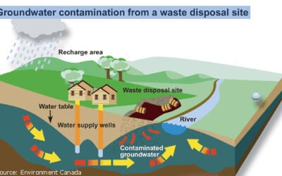 Contaminants can be natural or human-induced